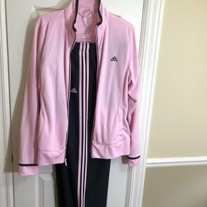 Vintage adidas pink training suit-XL